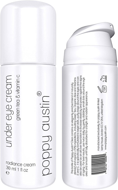 Crema De Ojos - ENORME 30ml - Vegano, Cruelty-Free, Orgánico - Mejor Natural Antienvejecimiento Crema Tratamiento Contorno de Ojos Para Ojeras, Bolsas y Arrugas