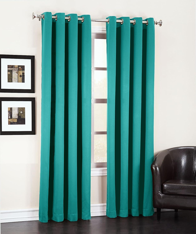 Peddle Grommet Panels Room Darkening Energy Efficient Curtains
