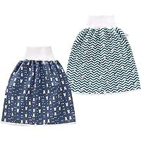 Happy Cherry - Bebé Falda de Pañal Impermeable para Niño Niña Recién Nacido Infantil Pantalones de Pañales a Prueba de…