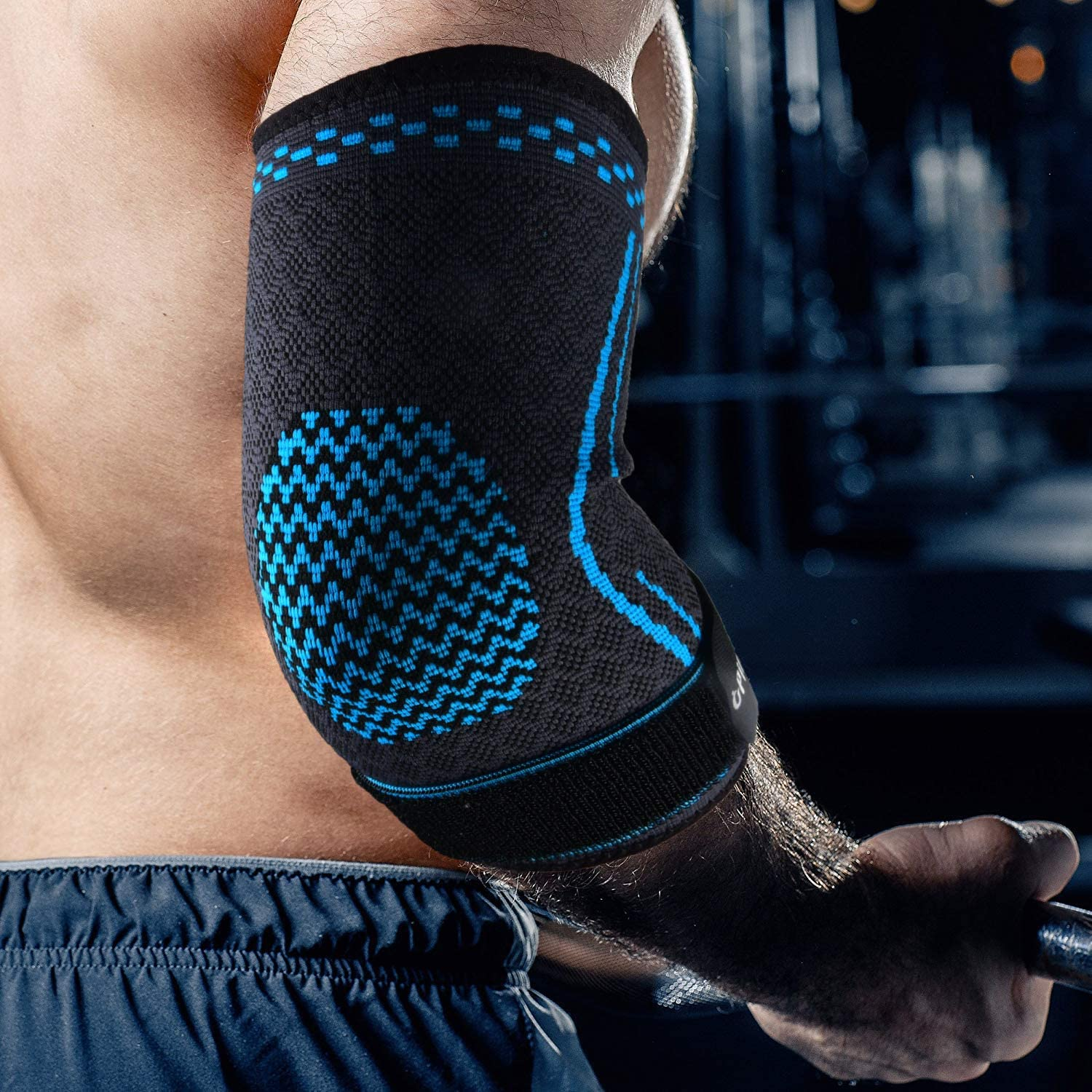 Tennis Elbow Brace and Golfers Elbow Treatment Pair Arthritis Weightlifting Workouts - Arm Elbow Sleeve for Tendonitis Baselay Elbow Compression Wraps Support Training