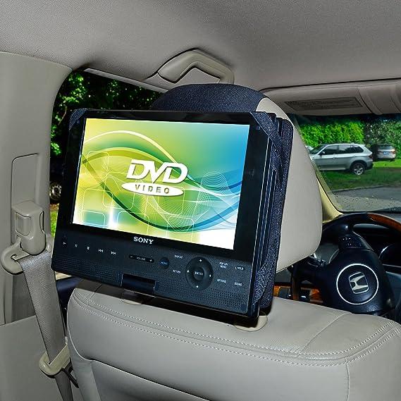 TFY - Soporte de coche para reproductores de DVD de hasta 9