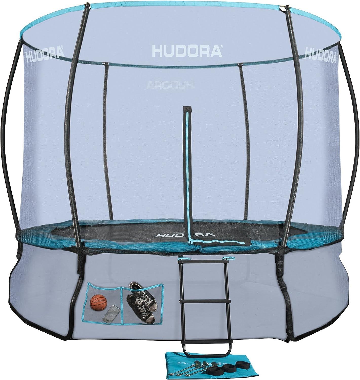 Hudora Unisex 300 V fantástico Completo Cama elástica, Gris, 300 ...
