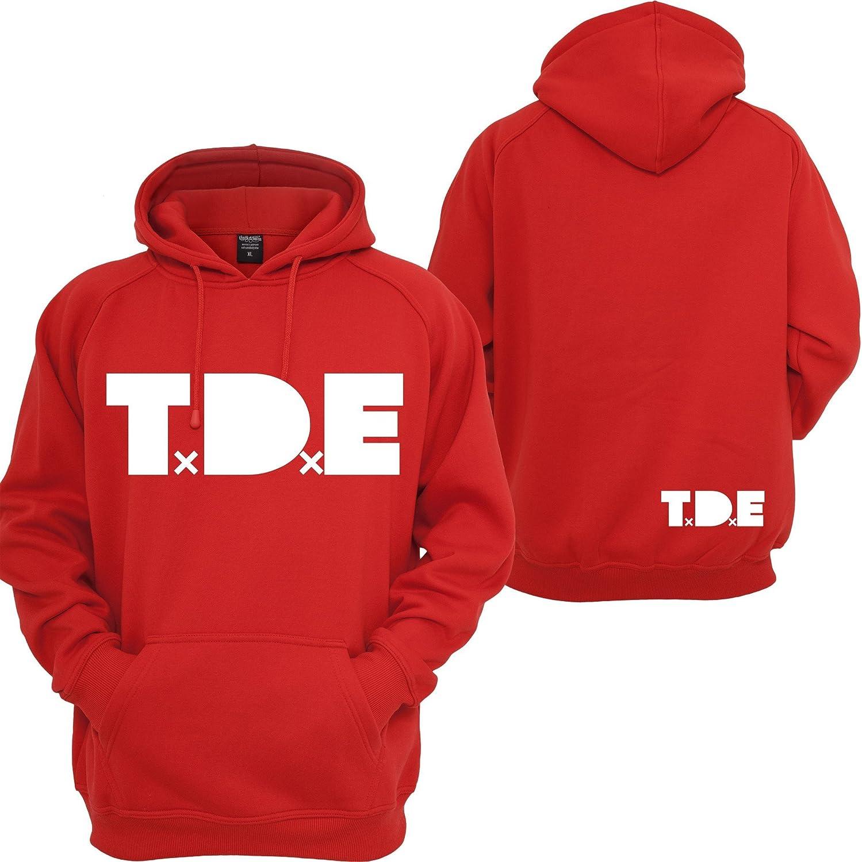 Custom Teez TDE J Cole Hoodie Top Dawg Entertainment Dreamville Records Music Kendrick Sweatshirt