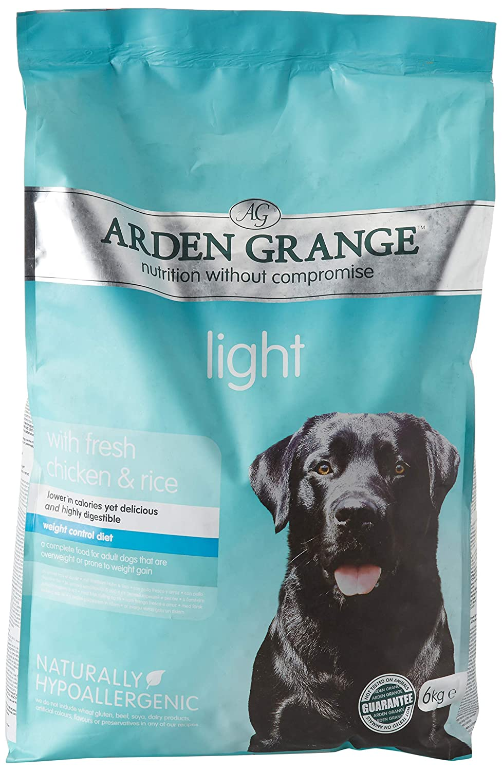 Arden Grange Adult Light Dry Dog Food 6kg