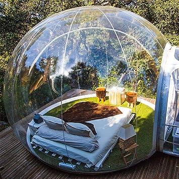 Tienda de campaña Hinchable de Burbujas, Transparente, con cúpula ...