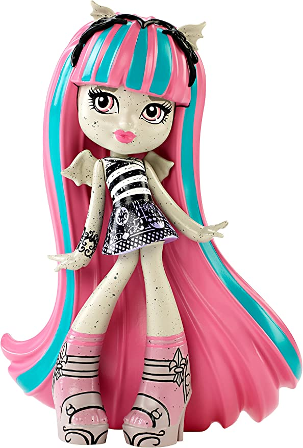 Amazon.es: Monster High Rochelle Goyle Vinyl Figure: Juguetes y juegos