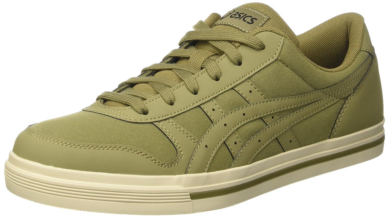 Asics Herren Aaron Sneaker, Grau  46 EU|Gr眉n (Aloe / Aloe)