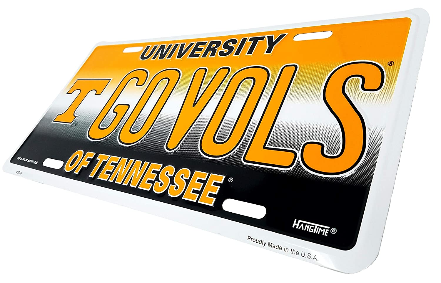 Ramsons Imports 12 x 6 University of Tennessee Go Vols License Plate Hangtime