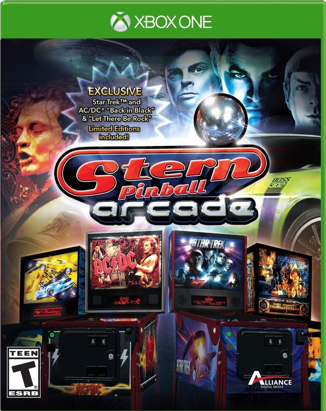 Amazon com: Stern Pinball - Xbox One: Video Games