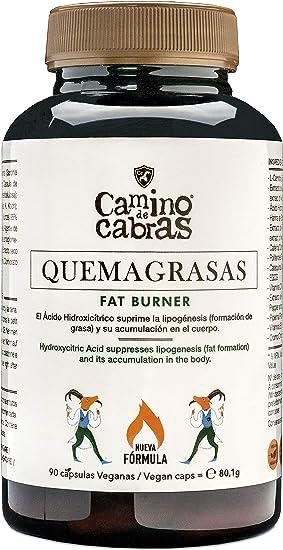 Quemagrasas potente para Adelgazar. Fat Burner de Alto impacto. Antioxidante natural. Nueva Fórmula Registrada con Elevada concentración de activos, ...
