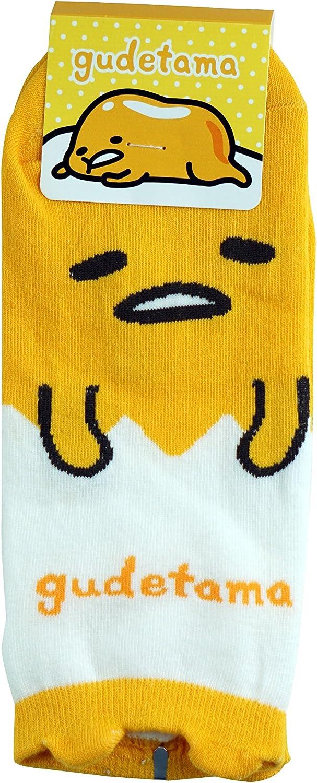 Amazon.com: Gudetama calcetines de algodón: Clothing