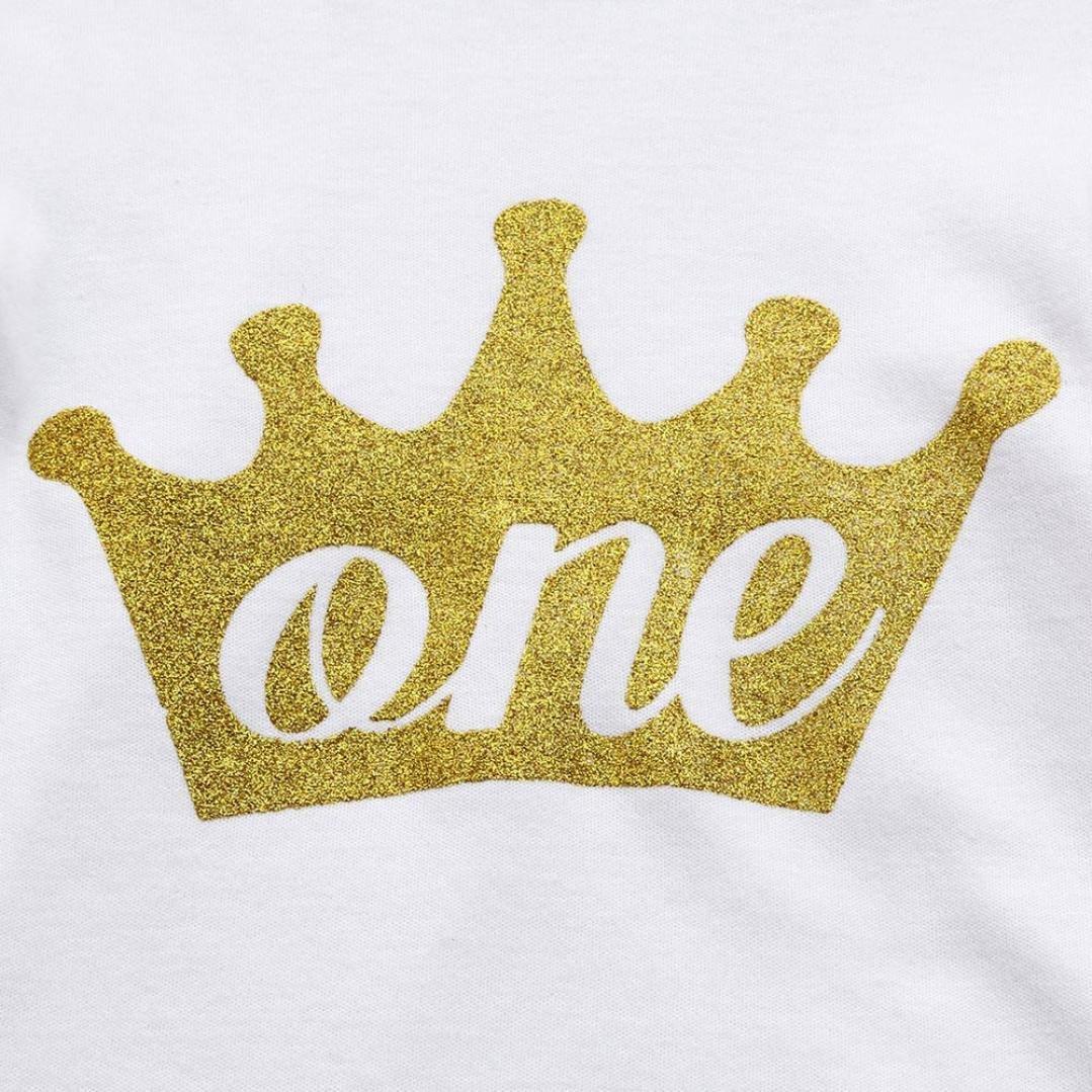 Für 1-2 Jahre alte Mädchen Outfits , Janly 3Pcs Baby-Geburtstags ...