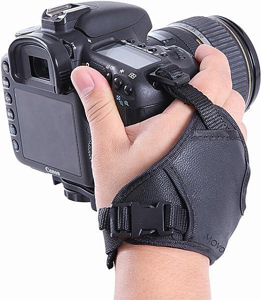 DURAGADGET 18 cm Premium Camera Wrist Carrying Strap