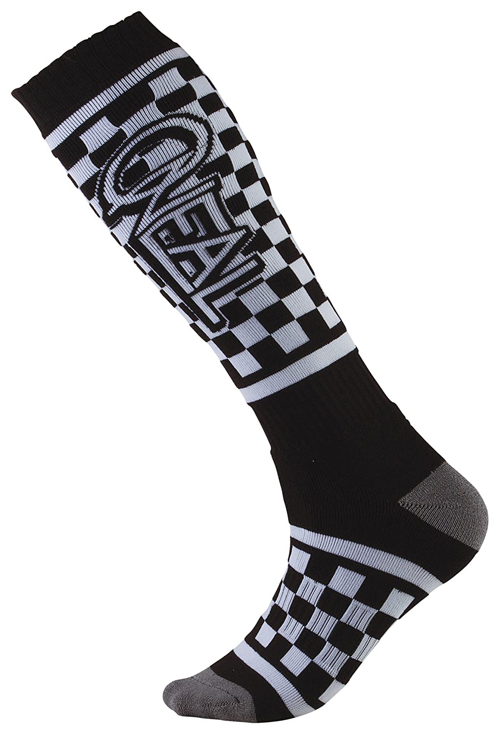 Red//White//Brown, One Size ONeal Pro Mx Mens Motorcycle Socks