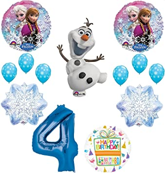 Amazon.com: Mayflower Products Frozen - Ramo de globos para ...