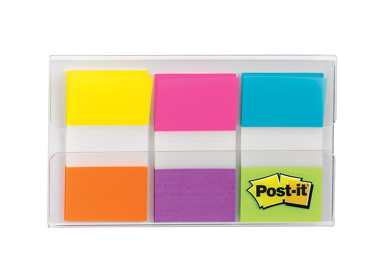 60 Flags per Pack 680-EG-ALT Post-it Flags Electric Glow.94 in x 1.7 in