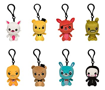 Funko Blind Bag Plush Keychain: Five Nights at Freddys - One Mystery Figure Collectible Figure