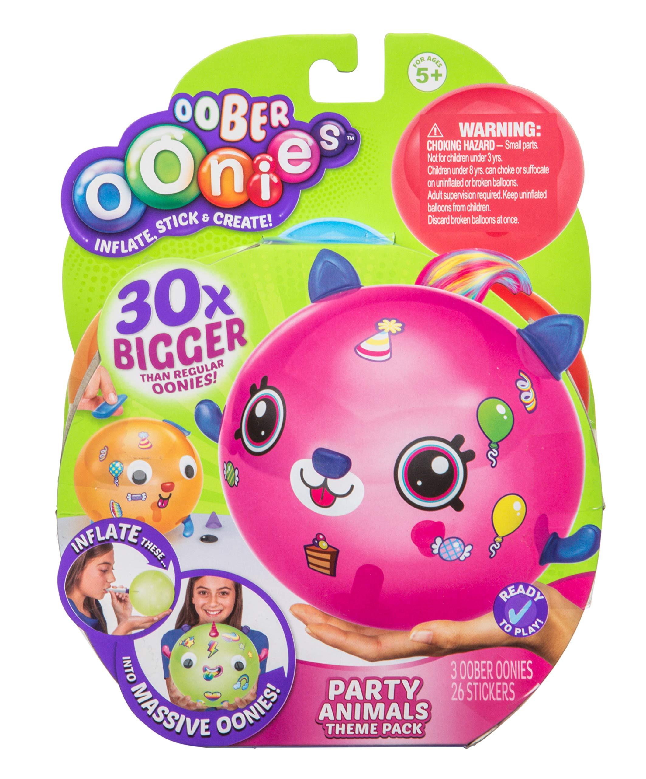 Oonies Oober Theme Pack - Party Animals