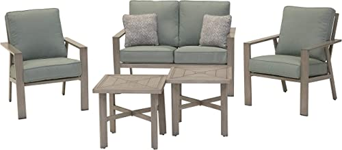 M d Furniture CANYON5PC-SPR Canyon 5pc Set: 2 Side Chairs
