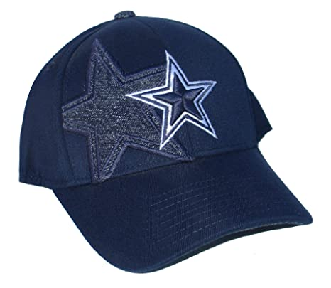 ed2e700ca Image Unavailable. Image not available for. Color: NFL Team Apparel Dallas  Cowboy Flex Fit Hat Size Small/Medium ...