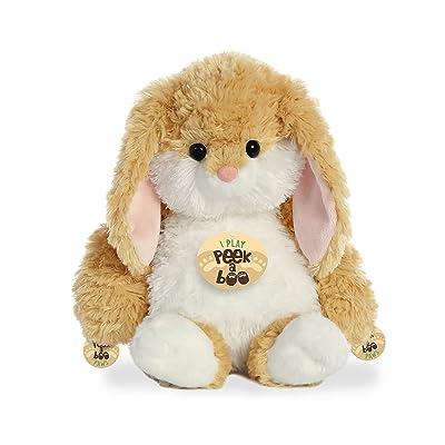 """Aurora - Peek A Boo - 12"""" Peek A Boo Bunny Tan: Toys & Games"""