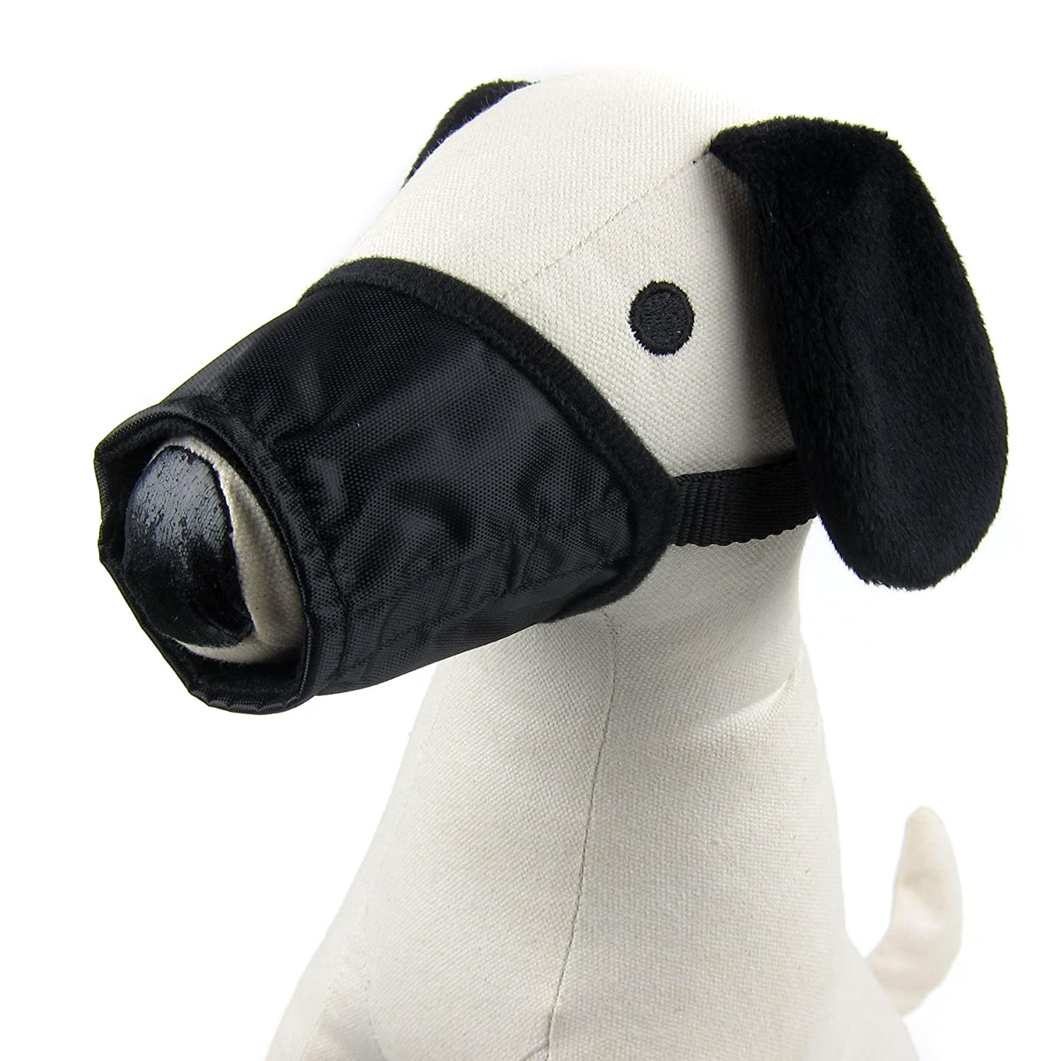 Black XL Black XL Alfie Pet by Petoga Couture Calan Adjustable Quick Fit Nylon Muzzle color  Black, Size  XL