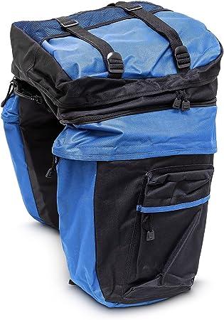 Alforjas bicicleta – Función bolsas independientes y mochila ...