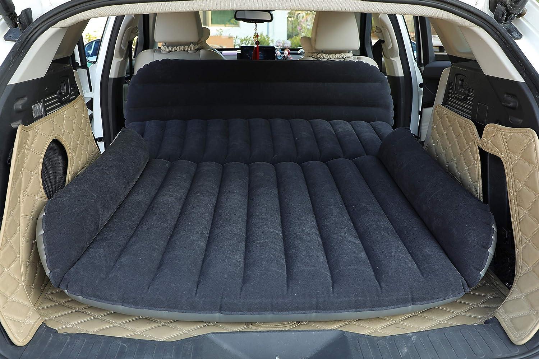 Car Seat Air Bed Camp Travel Sleep Inflatable Rear Cushion Mattress Outdoor SUV