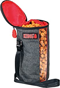 KONG Kibble Storage Dog Food Travel Bag - Portable Food Container for Pets