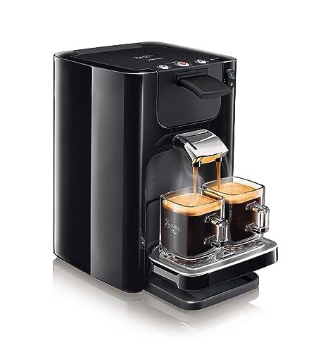 Senseo Quadrante HD7866/61 - Cafetera (Independiente, Máquina de café en cápsulas, 1,2 L, Dosis de café, 1450 W, Negro)