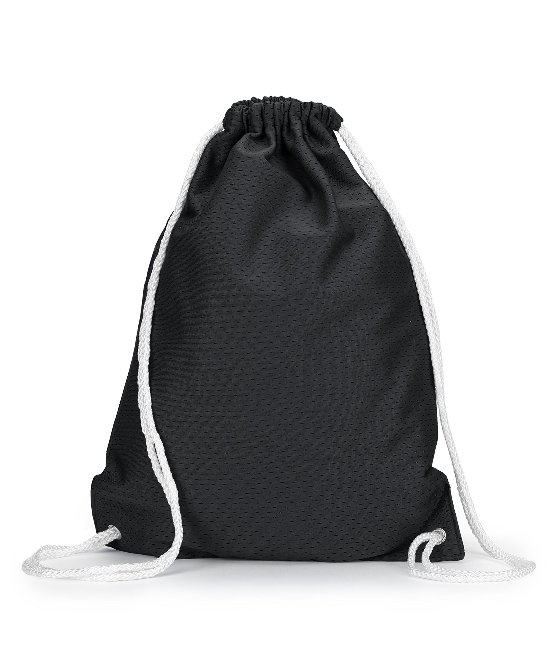 ZUZIFY Jersey Mesh Drawstring Sport Backpack. KM0102 OS Black