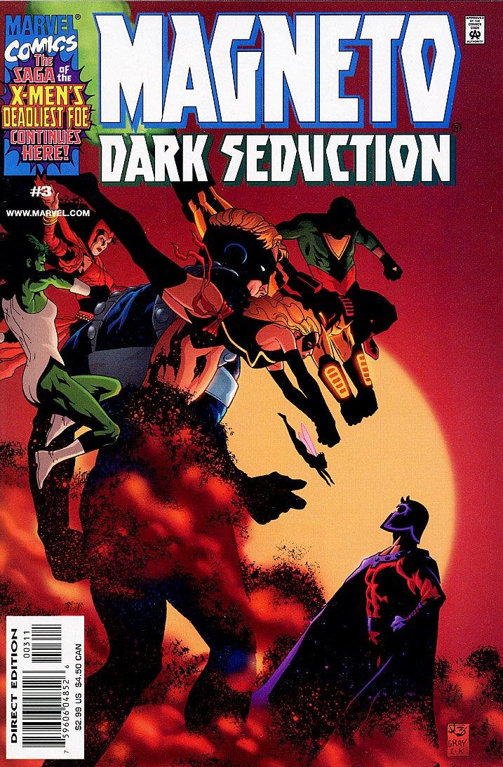 Read Online Magneto: Dark Seduction, Edition# 3 ebook