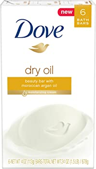 6-Pack Dove Beauty Bar (Dry Oil)