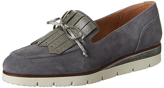 Brax 703577, Mocasines Mujer, Gris (Grau), 37 EU: Amazon.es: Zapatos y complementos