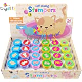 24 Pcs Cat Stampers for Kids