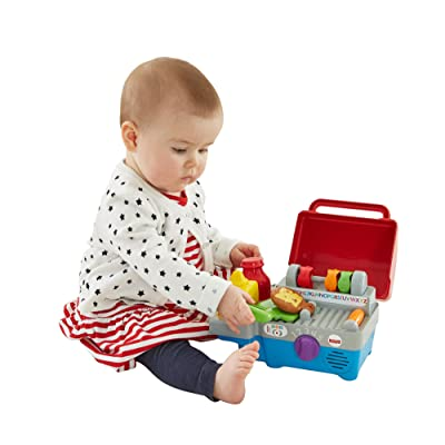 Fisher-Price Laugh & Learn Smart Stages Grill: Toys & Games