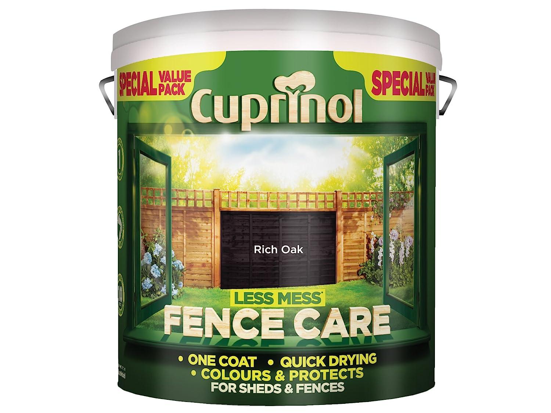 cuprinol less mess fence care