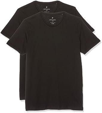 first rate 9b6ec a2830 Pierre Cardin Herren T-Shirt Rundhals, 2er Pack: Amazon.de ...