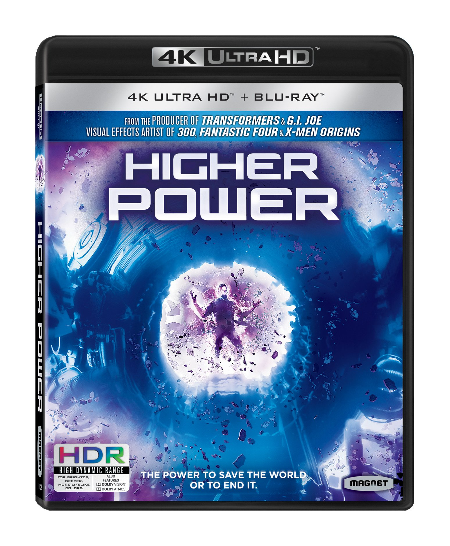 Blu-ray 3D : Higher Power (With Blu-Ray, 4K Mastering, 2PC)