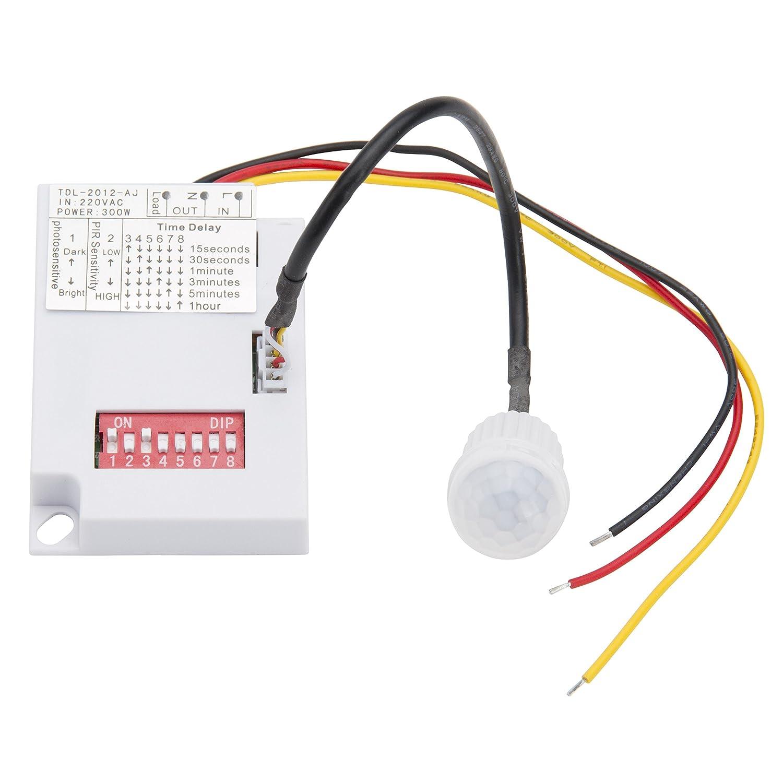Detector de Presencia para Empotrar Mini  hasta W