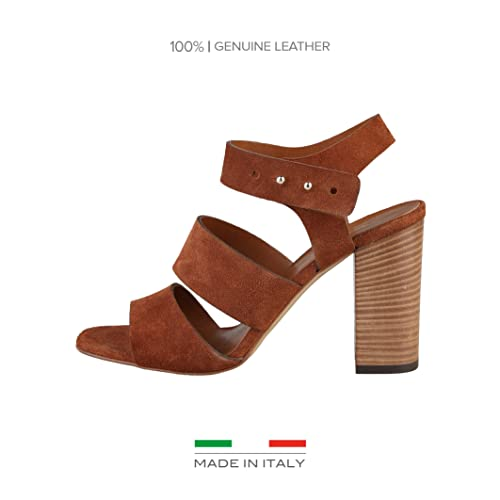 Made Donna36 Sandali Teresa Regolabile Italia In Alto Tacco mwNnyv80O