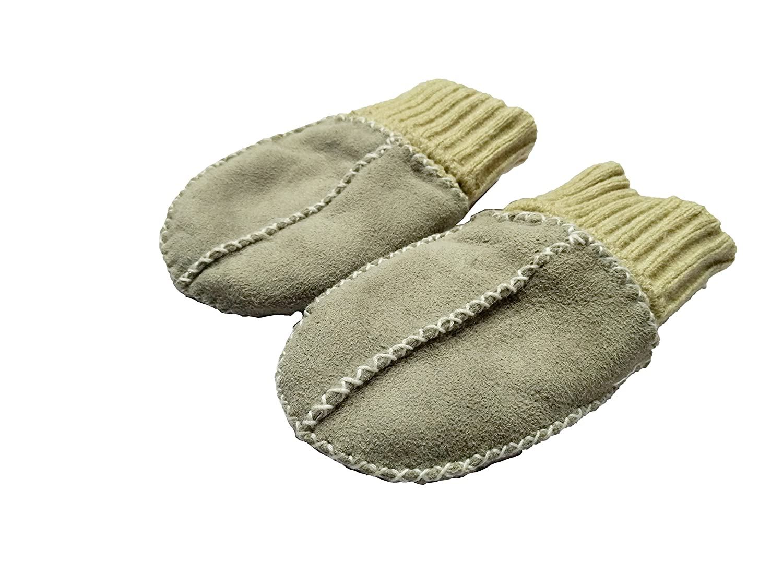 Altabebe MT4030 L 02 Baby Lammfell Handschuhe braun