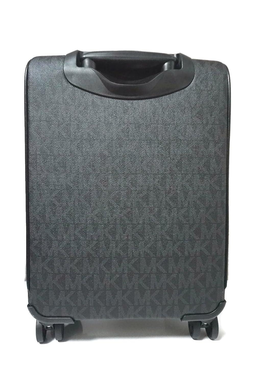 0792901a3c08 Amazon.com  Michael Kors Travel Trolley Carry On Suitcase Black MK Signature   Shoes