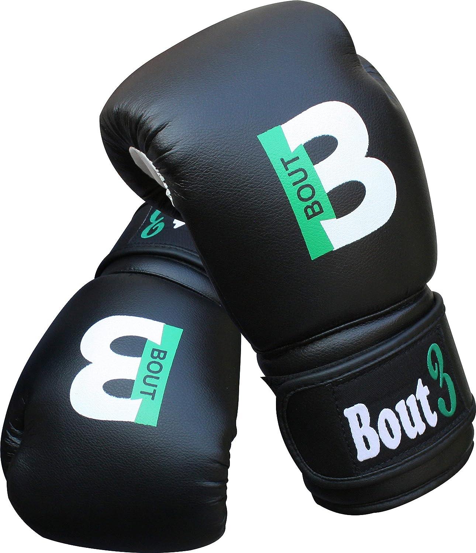 Sacos de Boxeo Entrenamiento Artes Marciales para ni/ños Ni/ñas Guantes de Muay Thai BOUT 3 Guantes de Boxeo