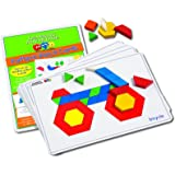 Learning Advantage 7149 Pattern Block Cards, Grade: Kindergarten to 4