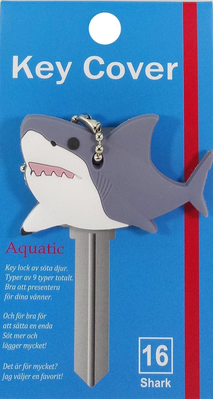 Key Cover/Key Caps/Key Holder/Keycaps - Cute Animal Pet Faces (Shark)
