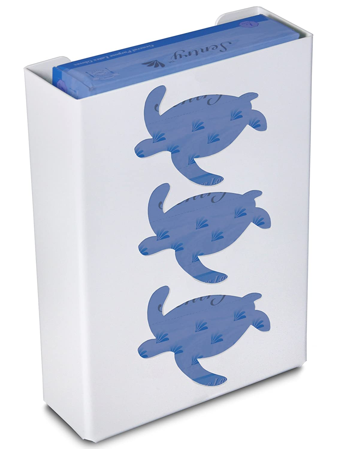 TrippNT 50858 Priced Right Triple Glove Box Holder with Sea Turtle, 11' Width x 15' Height x 4' Depth 11 Width x 15 Height x 4 Depth