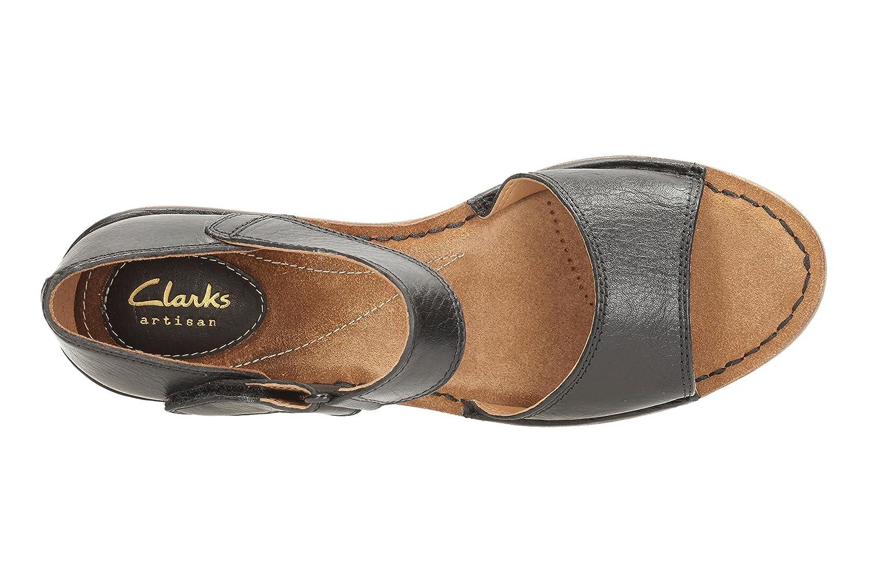 Clarks Orient Sea, Damen Sandalen , schwarz - schwarz - Größe: 42,5 EU:  Amazon.de: Schuhe & Handtaschen