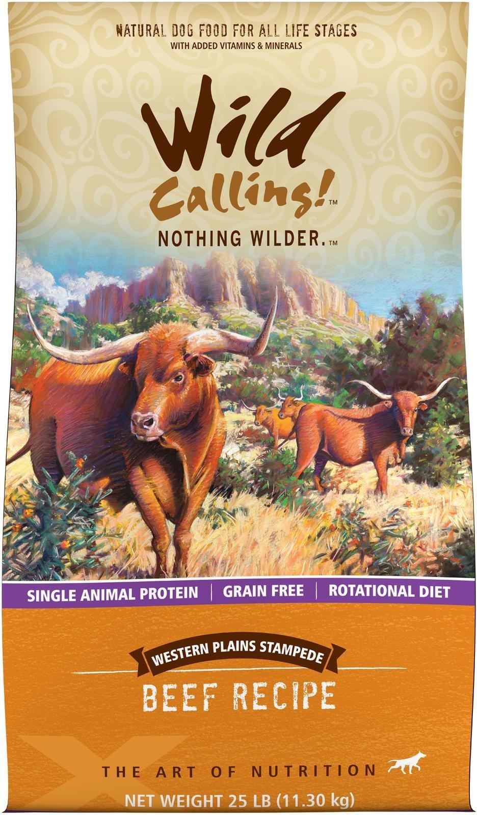 Wild Calling Western Plains Dog Food, 25 lb
