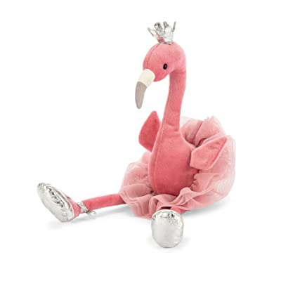 Jellycat Fancy Flamingo Stuffed Animal, 15 inches: Toys & Games